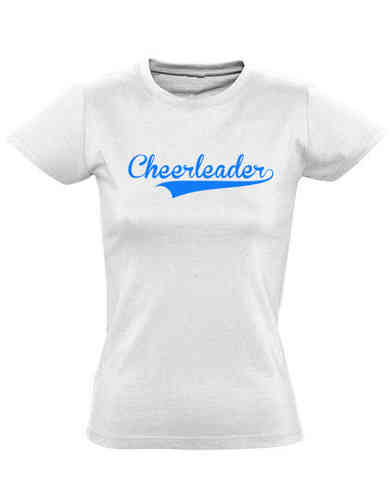 T-Shirt white Cheerleader