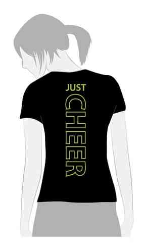 T-Shirt Just Cheer