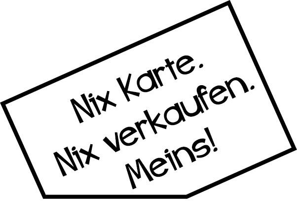 Autoaufkleber Nix Karte