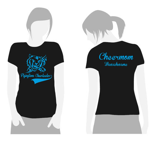 T-Shirt Cheermom FLC